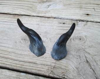 costume pan horns, lightweight Handmade horns, made to order, resin, wild thing, color choices, satyr, fairy