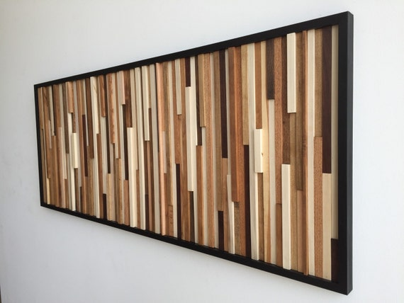 Wood wall art wood art reclaimed wood art 3d art wall Reclaimed wood wall art for sale