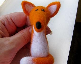"""Felt brooch """"Fox"""""""