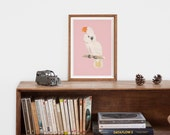 Vintage style poster | Animal poster | Animal Print | Australia Poster | Vintage poster | Vintage Print | gift for her | gift for child
