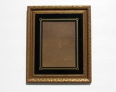 Frame for 5x7 picture, Black & Gold Art Deco