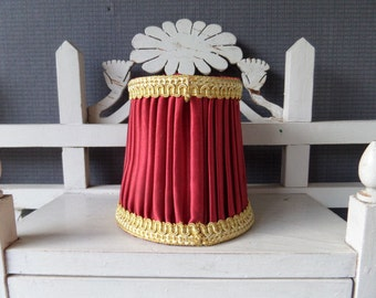Lovely  French Vintage  Clip on Lamp Shade