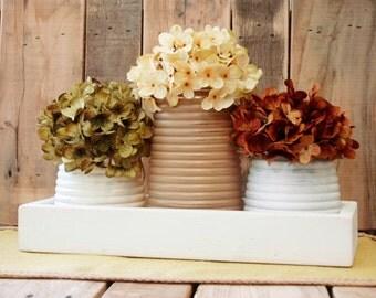 Honey Pot Farmhouse Rustic Box, table centerpiece, rustic decor, rustic table centerpiece, wooden box, home decor, wedding centerpiece