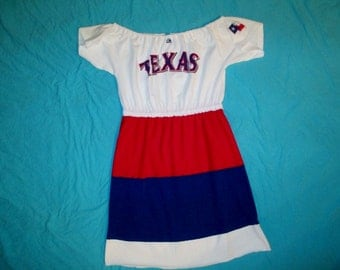 Texas Rangers Game Day Dress