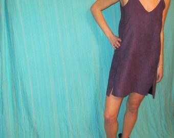 Suede Dress, Purple Game Day Dress Tailgate in Style, LSU, Kansas, TCU, Clemson