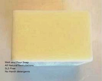 Cocoa Butter Melt and Pour Soap base 1 Lb wrapped