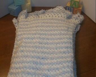 Crochet Hush-A-Bye Baby Blanket (A33)