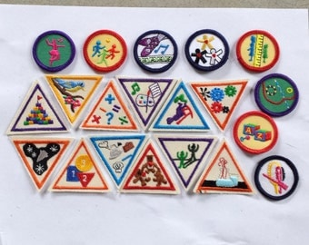 20 Girl Scout Patches