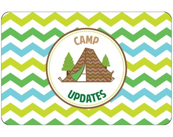 "Camp Ready Camp Postcards | Kid Postcards | Camp Stationery | 6"" X 4"" Postcards for Kids"
