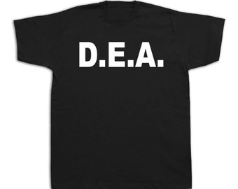 DEA Drug Enforcement Administration USA government t shirt strong safe #DEA