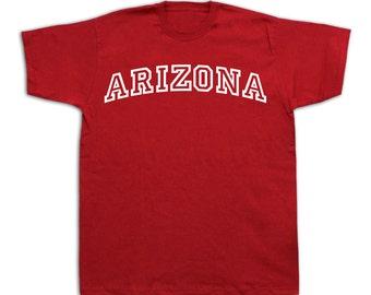 Arizona T shirt Grand Canyon state AZ Apparel classic style tide fashion team #arizona_arc