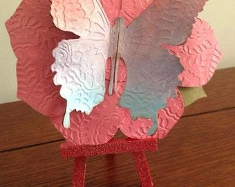 Butterfly Garden Invitation - Flowers - Butterflies - Party Invitation