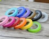 Stripes Washi Tape - Colorful Stripes - Masking Adhesive - Kawaii Washi Tape - Scrapbooking Washi Paper Tape -8mm*11mt - Choose Your Fav Col