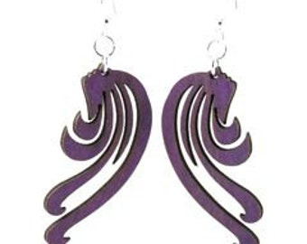 Flow Design - Wood Earrings