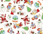 Storybook Christmas Multi Christmas 41742-X by Whistler Studios for Windham Fabrics