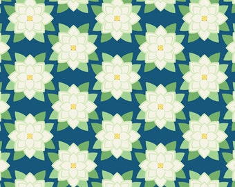 Mississippi Deco State Flower by Tiffany Lerman of In The Beginning Fabrics