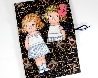 Fabric Paper Dolls  Classic Children's Toys  Soft Book Travel Toy CIJ