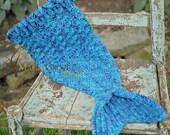 The Merry Mermaid Infant Crochet Mermaid Tail Pattern