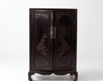 antique Asian cabinet, Chinese cabinet
