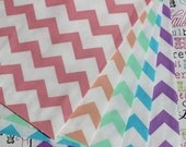 50 Chevron Party Favor Bags, Wedding Favor Bags, Baby Shower Favor Bags, Candy Bags, Popcorn Bags, Cookie Bags, Gift Bags