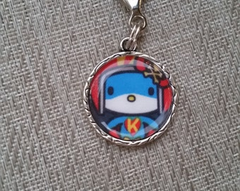 little e clip fob. Super Kitty. Tokidoki key fob. necklace charm