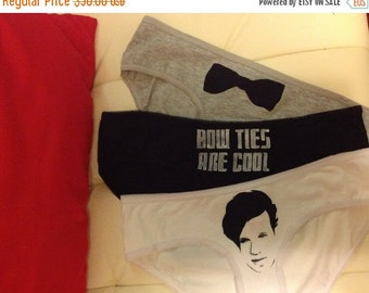 SUMMER SALE 11th Doctor Matt Smith triple panty set