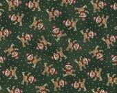 Sale Paper Doll Christmas, Windham Fabrics, Bears, 1/2 Yard