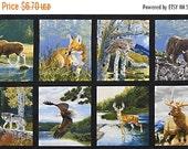 Sale Nature, Panel, Robert Kaufman Fabrics, Al Agnew