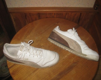 PUMA  MUNICH   Classic   Leather & Suede  Sneakers    Mens  US  11  1/2