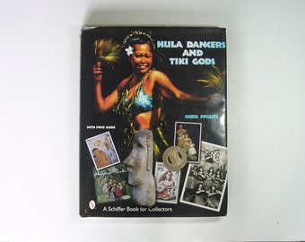 Hula Dancers And Tiki Gods Book - Full Color