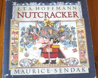 FIRST EDITION 1984 Nutcracker Book by E.T.A Hoffman Illustrations by Maurice Sendak Hardcover