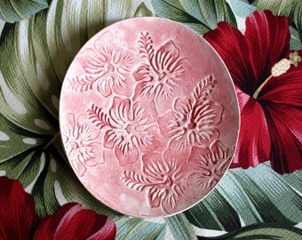 hibiscus tropical plate