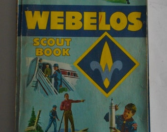 Vintage Cub Scout Webelos Handbook
