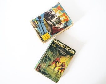 French Vintage Science fiction  paperback books