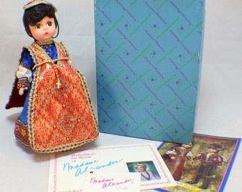 "Madame Alexander 8"" Doll Juliet from Shakespeare's Play 94-7 in Original Box"