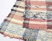 Sakiori Textile - Japanese Vintage Handwoven Textile - Home Decor - Table Mat - Wall Hanging (Ref: 1155)