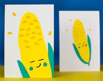 postcards corn