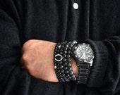 Mens Lava Rock Bracelet Mens Bracelet Mens Beaded Bracelet Beach Bracelet Mens Jewelry Mens Gift for Men Bracelet Mens Bracelet Gift for Him
