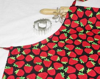 Strawberries Adult Apron