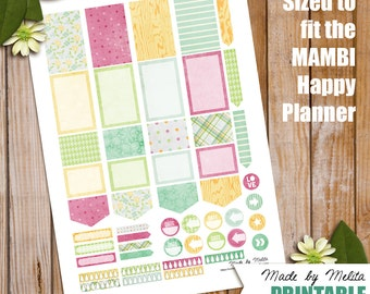 Happy Planner Printable - Pretty Little Thing