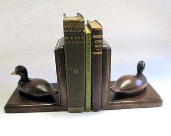 Duck Bookends Mallard Bird