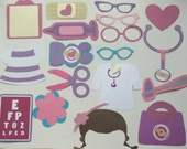 DOC MC STUFFINS photo booth props for kids parties