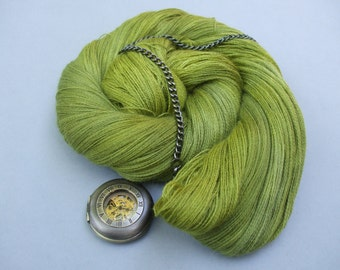Sure is Silky Cobweb Lace. Oak Wood