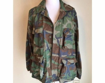 Authentic Camo Army Jacket
