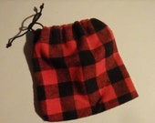Party Favor Bags, Red & Black Buffalo Plaid Favor Bags, First Birthday Party, Woodland Party, Lumberjack Party, Country Chic Wedding Favors