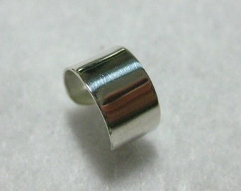 Sterling Silver Plain Ear Cuff