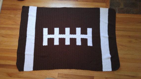 Football Baby / Throw Blanket