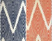 Bali Chevron Print Bed Skirt Tailored Bed Skirt Custom Bedding Twin Full Queen King Bed Skirt Bed Set - 24x24 Euro Shams