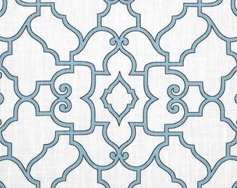 Aqua Kitchen Curtains. Stripe Aqua Blue Valance. Quick View. Park ...