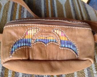 Vintage leather fannypack Matagalpa Nicaragua